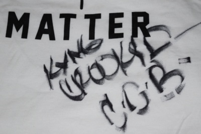 Autograhed Dope Lyrics Matter